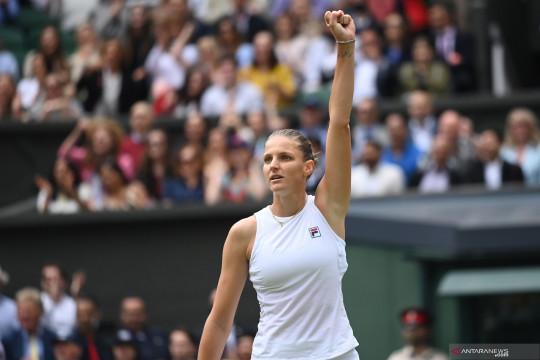 "Finalis Wimbledon Pliskova naik ke peringkat lima WTA Finals ""race"""