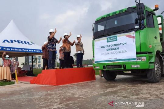 Riau kirim 500 ton oksigen ke Pulau Jawa dan Bali