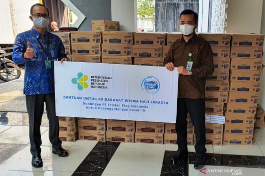 15 ribu produk susu cair dukung logistik nakes tangani COVID-19