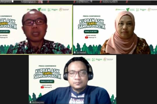 LSM ajak masyarakat manfaatkan Idul Adha kurangi sampah plastik