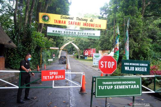 Taman Safari Indonesia tutup sementara