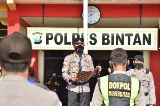 Polres Bintan tangkap PMI asal Lombok bawa sabu dan pil ekstasi