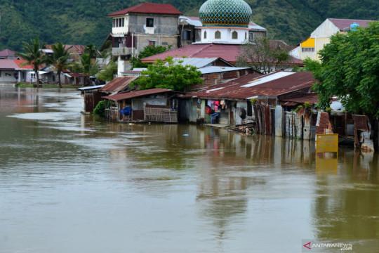 Banjir masih meliputi sebagian wilayah Aceh Besar