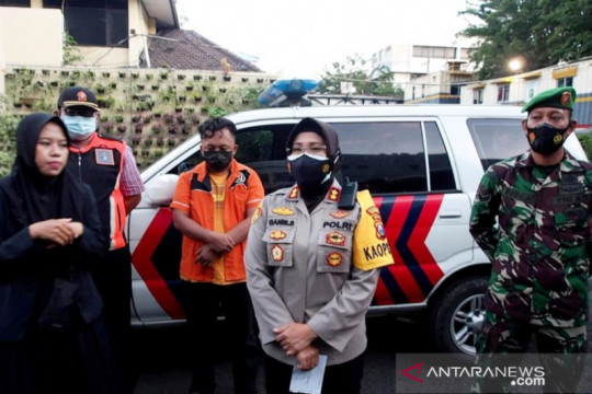 Polisi tetapkan tersangka kericuhan operasi PPKM darurat di Surabaya