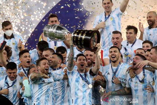 Argentina juara Copa Amerika, kalahkan Brazil 1-0