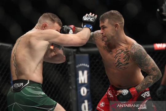 McGregor akan jumpa Poirier lagi, kata bos UFC