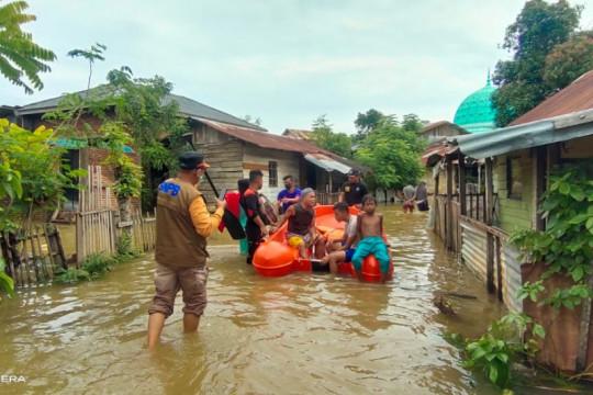 58 kepala keluarga mengungsi di Aceh Besar akibat banjir