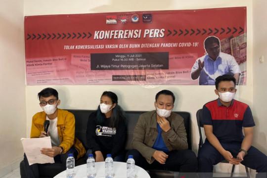 BEM Nusantara tolak komersialisasi vaksin COVID-19
