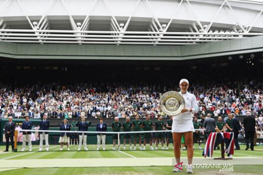 Situasi mendukung Barty merengkuh mukjizat Wimbledon