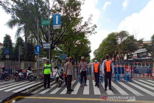 Polda Jateng temukan banyak jalan ditutup justru dipakai berolahraga