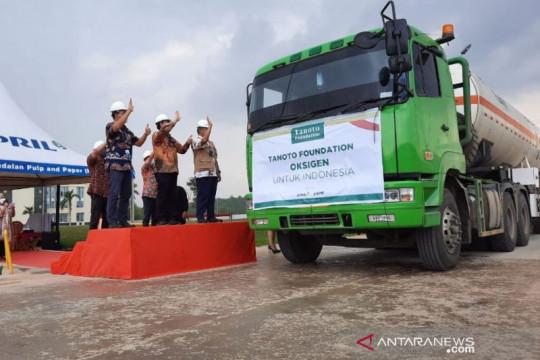 Polda Riau kawal pengiriman 70 ton oksigen