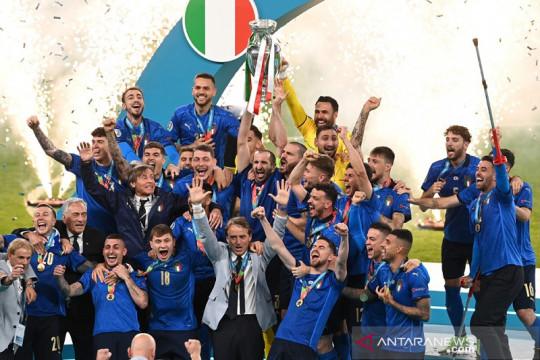 Daftar Juara Euro: Italia kembali jawara setelah setengah abad
