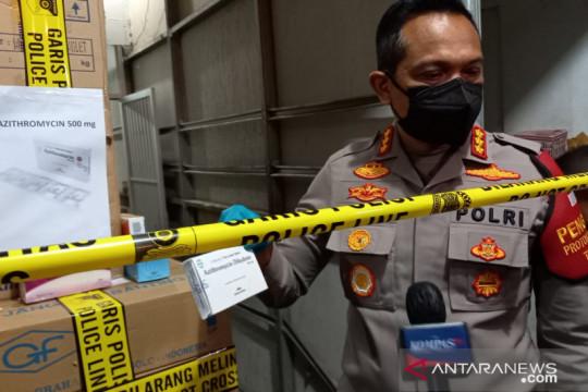 Polisi-jaksa berkoordinasi untuk tetapkan tersangka penimbun obat
