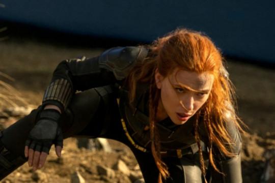 """""""Black Widow"""" sumbang pendapatan besar untuk bioskop Amerika"""