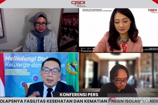 Ridwan Kamil sebut dukungan telekonsultasi penting untuk isoman