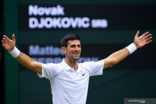 Djokovic jajal venue Olimpiade Tokyo, siap hidupkan mimpi Golden Slam