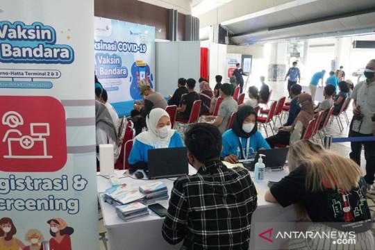 Vaksinasi di Bandara Soekarno-Hatta tersedia mulai 12 Juli