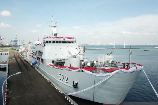 Kolinlamil siap operasikan KRI Teluk Youtefa 522