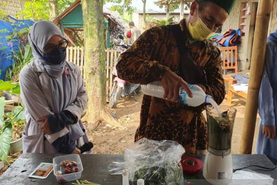 Mahasiswa IPB University bantu petani usir hama wereng