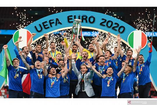 Euro 2020: Italia kalahkan Inggris lewat adu penalti