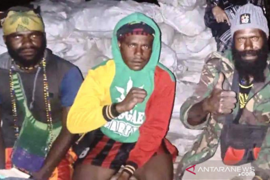 Satgas Newangkawi tangkap DPO teroris Puncak Gumanggup Enumbi