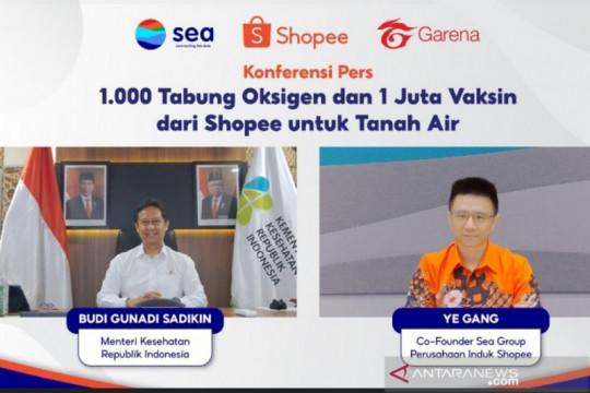Menkes sambut hangat bantuan 1.000 tabung oksigen dari Shopee