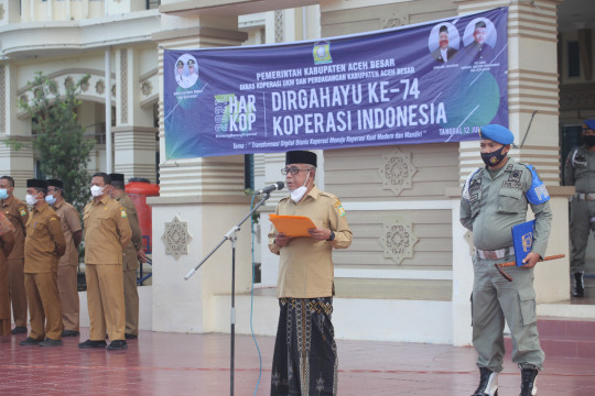 Wabup Aceh Besar: Hari Koperasi momentum tingkatkan ekonomi daerah