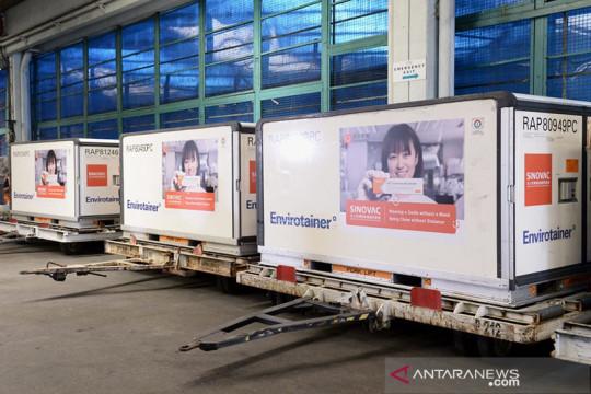 Indonesia menerima 10 juta dosis tambahan bahan baku vaksin Sinovac