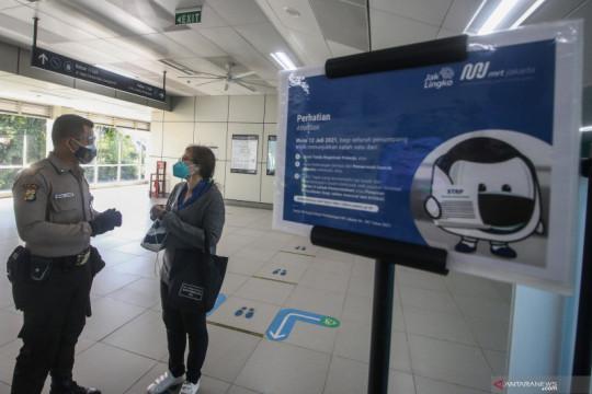 MRT Jakarta dukung PPKM dengan percepat waktu operasional