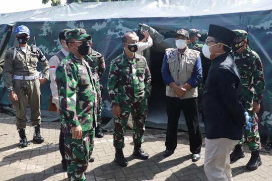 RS lapangan COVID-19 dr Soepraoen di Kota Malang mulai dioperasikan