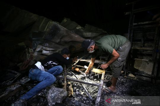 Korban tewas kebakaran RS rujukan COVID di Irak berjumlah 60