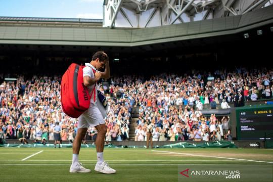 Federer tersingkir dari 10 besar, Norrie naik peringkat