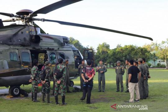 Heli Caracal dikerahkan untuk evakuasi jasad dua teroris MIT Poso