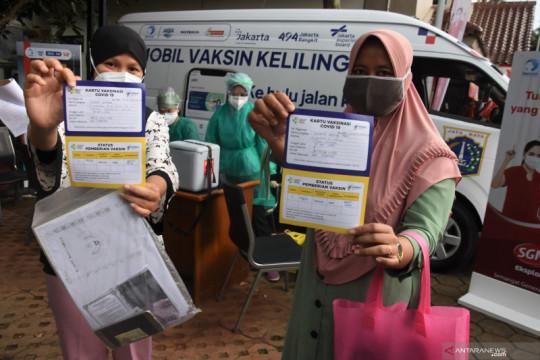 Ini lokasi Mobil Vaksinasi Keliling di Jakarta pada Minggu