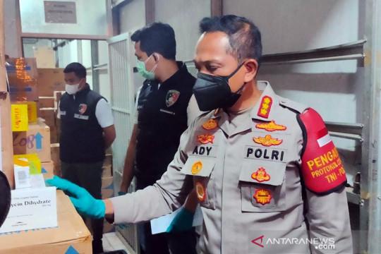 Tunggu ahli Kemenkes, polisi segera tetapkan tersangka penimbunan obat