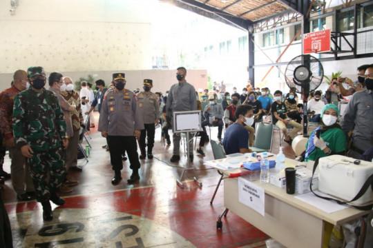 Kapolri apresiasi DPP LDII gelar vaksinasi massal di pesantren