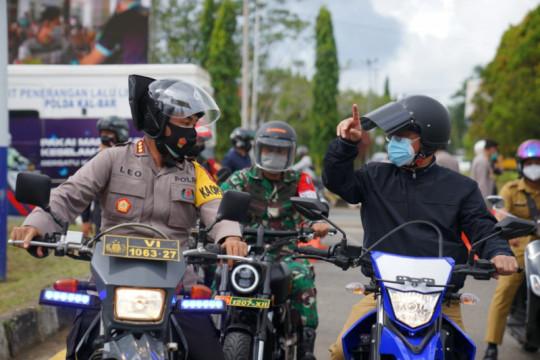 Wali Kota Pontianak sebut sebagian besar warga patuh PPKM Darurat