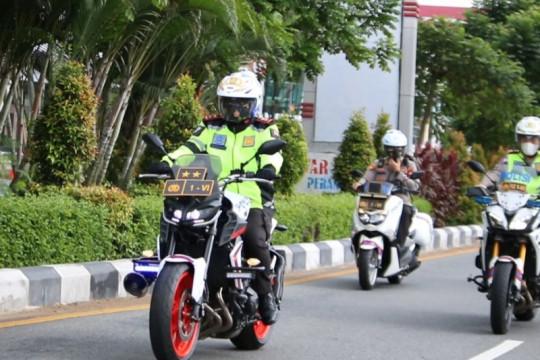 Kapolda Kalbar turun langsung pantau PPKM Darurat di Pontianak