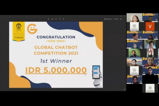 Vokasi UI juara umum kompetisi Artificial Intelligence