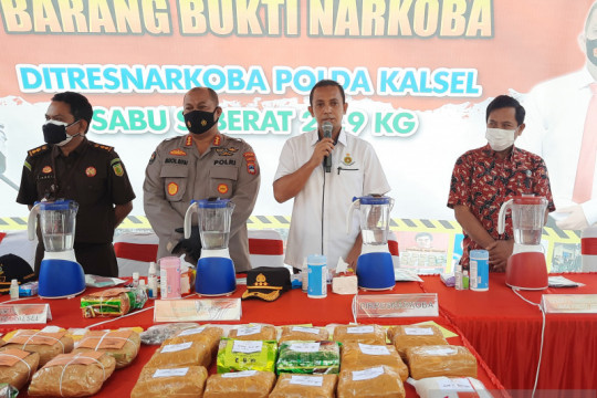 Sindikat narkoba di Kalsel manfaatkan warga kurang mampu jadi pengedar