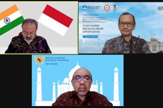 Dubes dorong lebih banyak mahasiswa Indonesia belajar di India