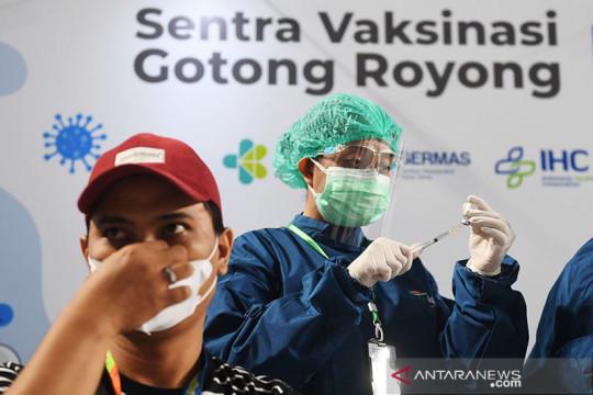 Kemarin, pemerintah bayar insentif nakes hingga Vaksin Gotong Royong