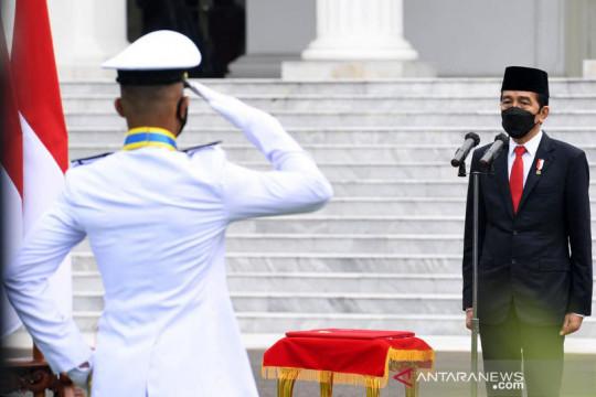 Presiden Jokowi minta sudahi gesekan prajurit TNI dan anggota Polri