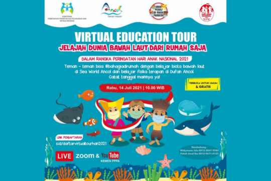 Ancol dan Kementerian PPPA hadirkan hiburan virtual rayakan HAN 2021