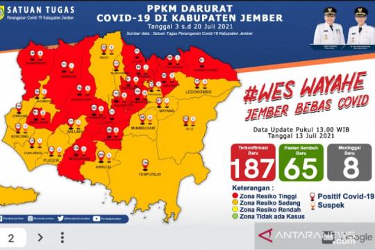 Pasien COVID-19 yang meninggal di Jember terus meningkat