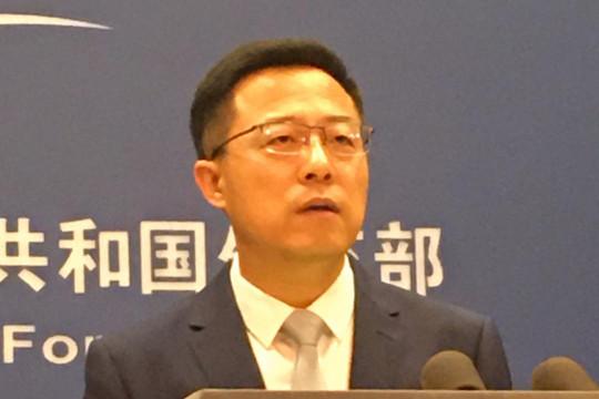 """China beberkan 100 contoh """"campur tangan"""" AS di Hong Kong"""