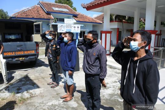 Kemarin, sanksi pelanggar PPKM Darurat hingga karhutla di Ogan Ilir