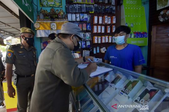 Langgar aturan PPKM Darurat di Bali, pemilik toko kena denda Rp1 juta