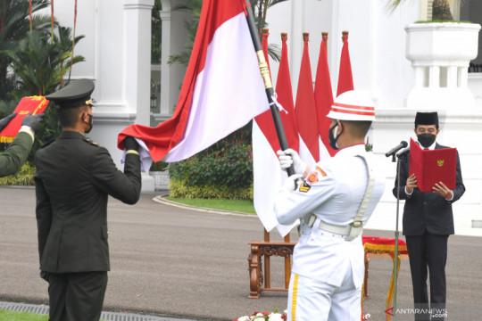 Prasetya Perwira TNI-Polri di Istana Merdeka