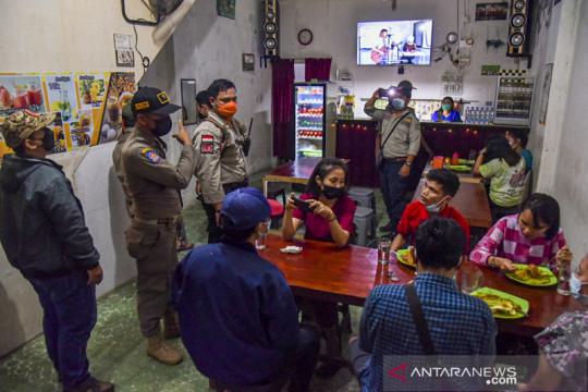Razia penerapan PPKM Darurat di Medan